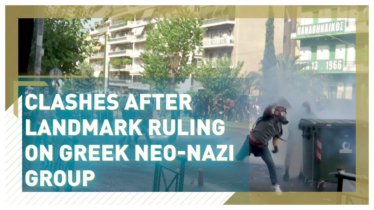 Download Greece's neo-Nazi party Golden Dawn branded criminal organization