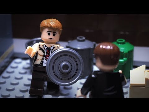 Captain America I Can Do This All Day Lego Stop Motion