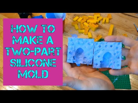 Tutorial: How I Made A Two-Part Silicone Mold For Casting Resin Figures