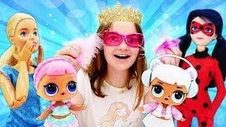 Фото Куклы ЛОЛ Барби и Леди Баг лучшие видео для девочек. Шоу Будет исполнено.