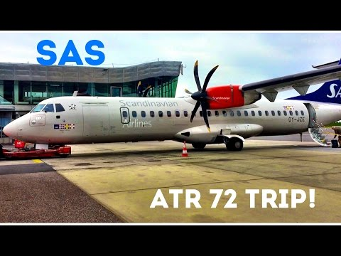SAS ATR 72, Economy Class from Gothenburg to Copenhagen