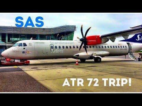 SAS ATR 72, Economy Class from Gothenburg to Copenhagen