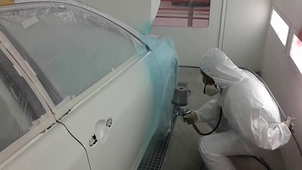 Spraying 2k Paints