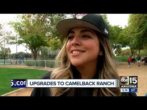Camelback Ranch makes facility upgrades