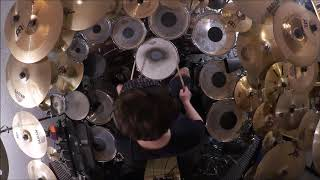 Genesis - Visions Of Angels Drum Cover (High Quality Sound)