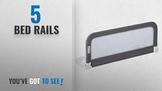 Top 10 Bed Rails [2018]: Safety 1st Portable Bed Rail (Dark Grey)