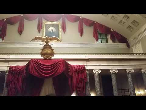 The Old Senate Chamber from 1810 to 1859 at the United States Capitol, Washington, DC
