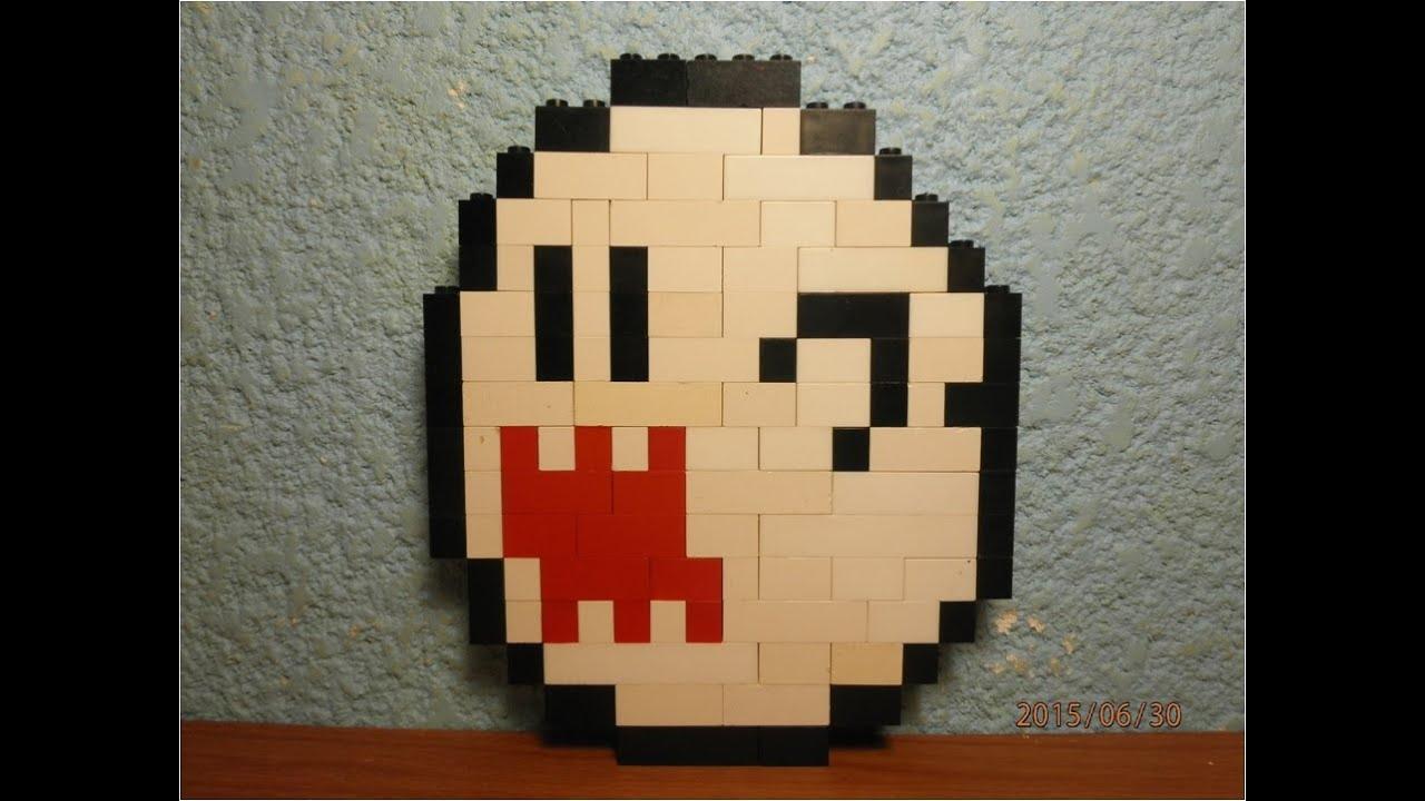 Lego Boo (Instructions): A LEGO® creation by Benjamin Jones ...
