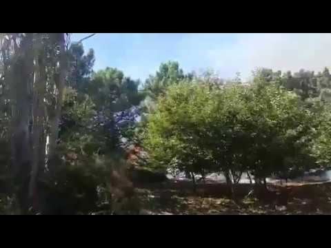 O Barbanza arde en pleno mes de octubre