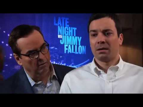 Jimmy Fallon vs Parks and Rec Cast - We're Not Gonna Take it
