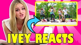 Ivey Reacts: Like A Girl (Haschak Sisters)