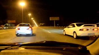 Honda Integra Type-R vs Mitsubishi Lancer Evo vs Subaru Impreza STi GC8