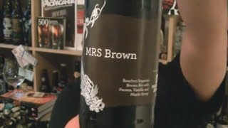 Siren / Magic Rock - Mrs Brown (bourbon/ Pecan/vanilla/maple Syrup Brown Ale) - Hopzine Beer Review