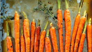 Glazed Whole Roasted Carrots