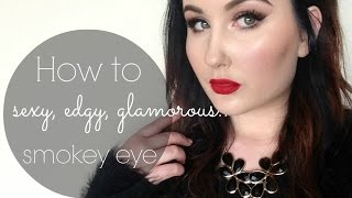 Sexy, Edgy & Glamorous - Smokey Eye | Katherine Lynnette Beauty Thumbnail