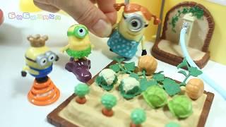 Мультик из игрушек Миньйоны Посадили Огород cartoon Grow Vegetables