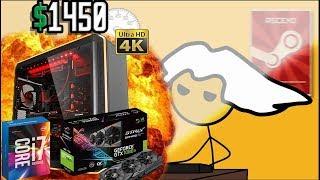 Wie fühlt es sich an einen 1450 Euro Gaming PC zu bekommen
