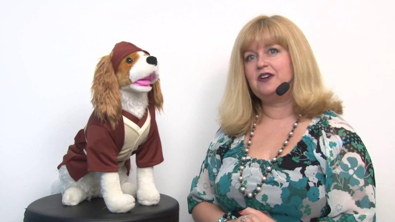 Star Wars Jedi Robe Dog Costume  sc 1 st  YouTube & Star Wars Jedi Robe Dog Costume - YouTube