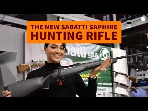 The new Sabatti SAPHIRE hunting rifle