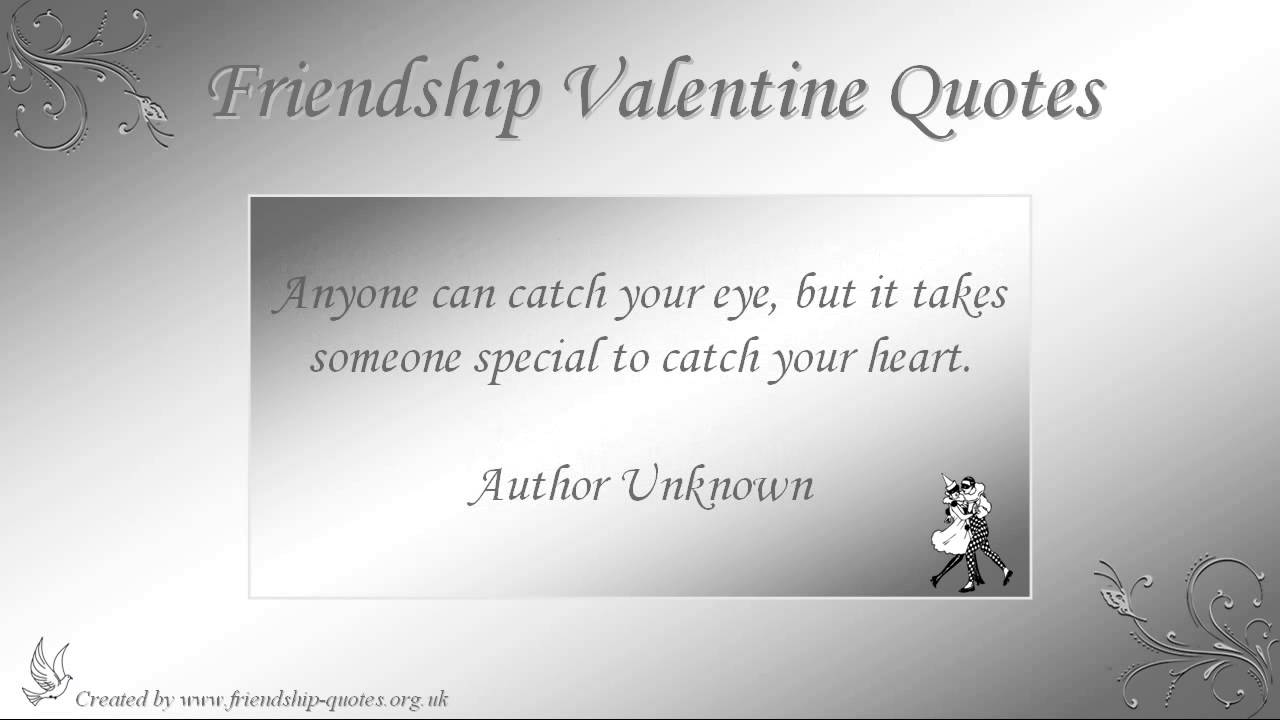 Valentines Quotes For Friends Friendship Valentine Quotes  Youtube