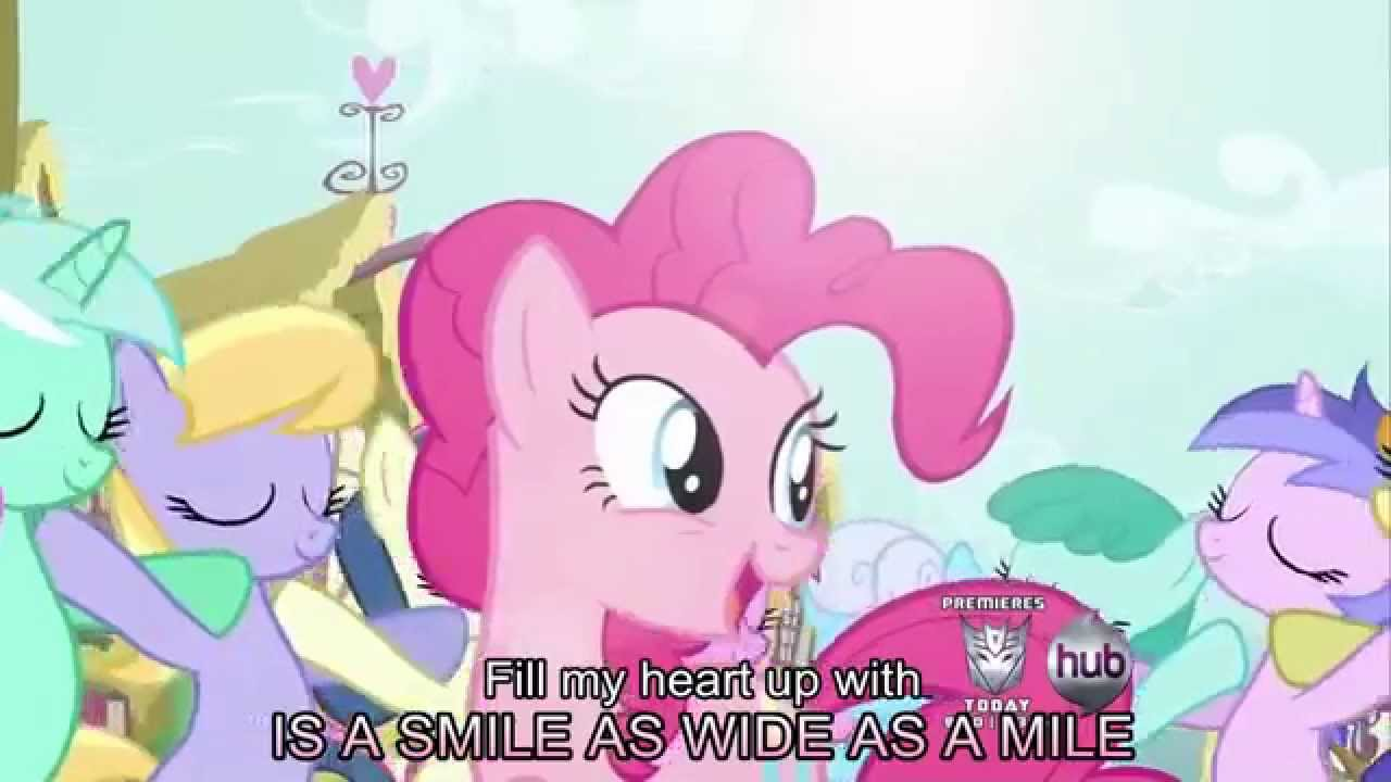 Smile Song [With Lyrics] - My Little Pony Friendship is ...