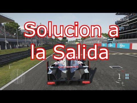 Forza Motorsport 6- Solucionar problema de la Salida