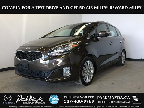 Brown 2014 Kia Rondo  Review Sherwood Park Alberta - Park Mazda