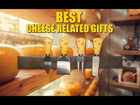 Cheese Related Gifts for the Mad Cheese Lovers Among You