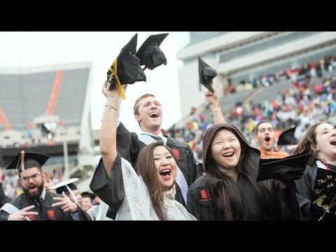 Live: Virginia Tech Spring 2017 University Commencement Ceremony