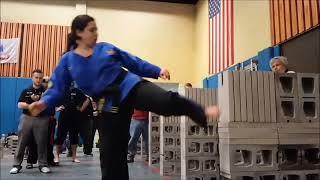 Daniele Serrano- Power Concrete Sidekick- 2018 USBA MA State Breaking Championships