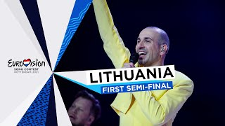 The Roop - Discoteque - LIVE - Lithuania 🇱🇹 - First Semi-Final - Eurovision 2021