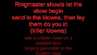 The dickies: Killer klowns from outer space (Lyrics)