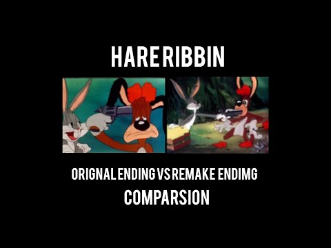 Hare Ribbin Comparison Original Vs Second Version