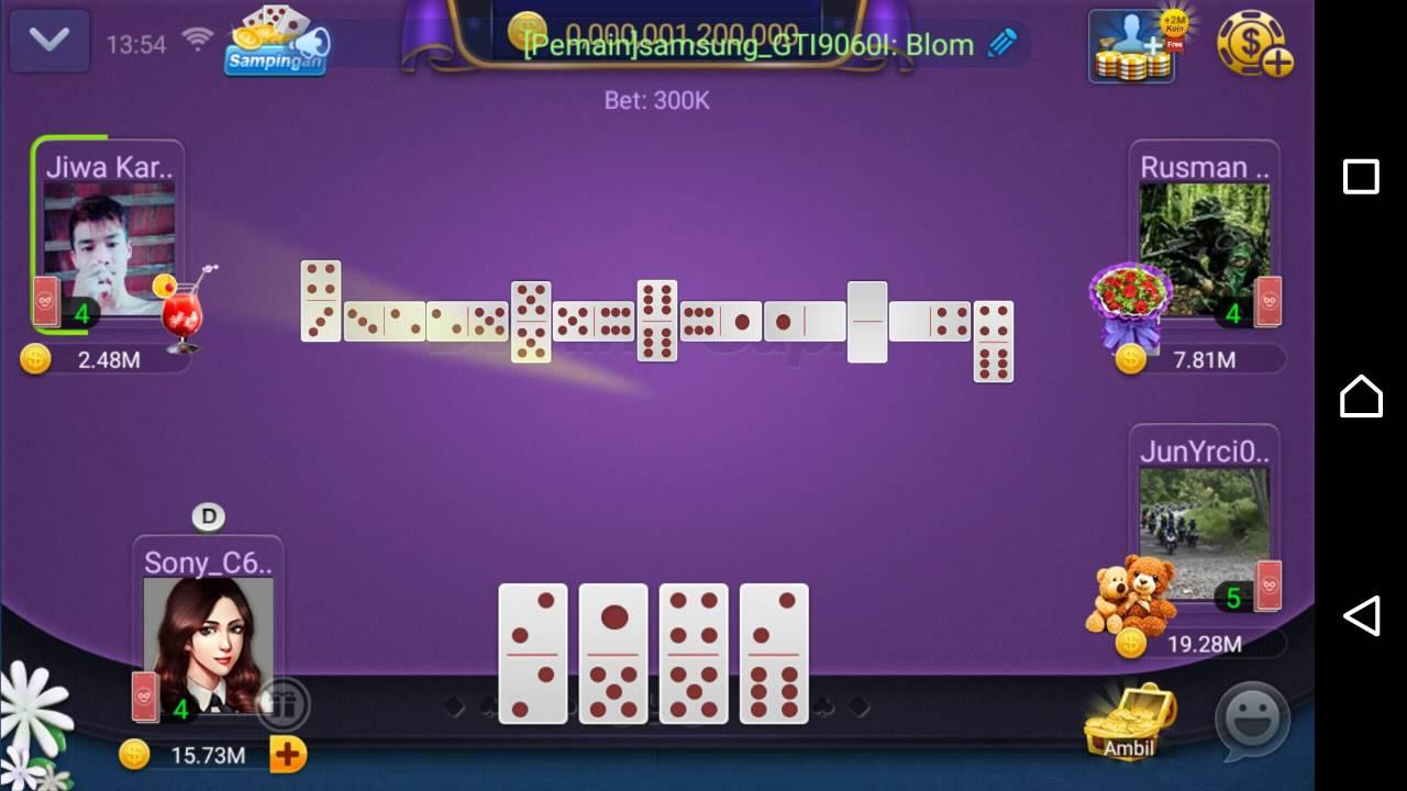Domino Gaple Card Online Game Youtube