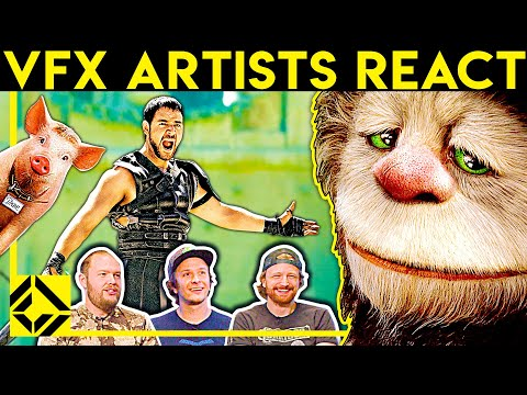VFX Artists React to Bad & Great CGi 31