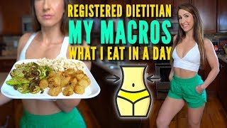 My Marcros - Dietitian What I Eat In A Day