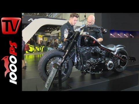 Rizoma Zubehörlinie für Harley Davidson Softail Slim 2017