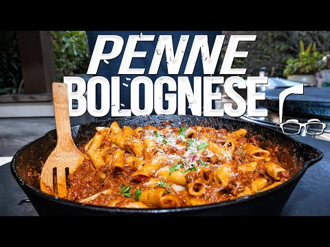 PERFECT PENNE BOLOGNESE, WOW! | SAM THE COOKING GUY 4K