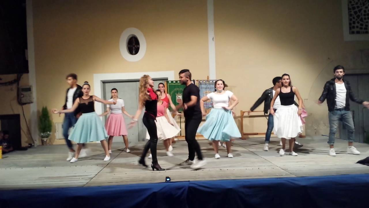 4261f4dfb Grease Show mix Dance - YouTube