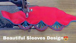 beautiful sleeves design for blouse and Kurti - #2