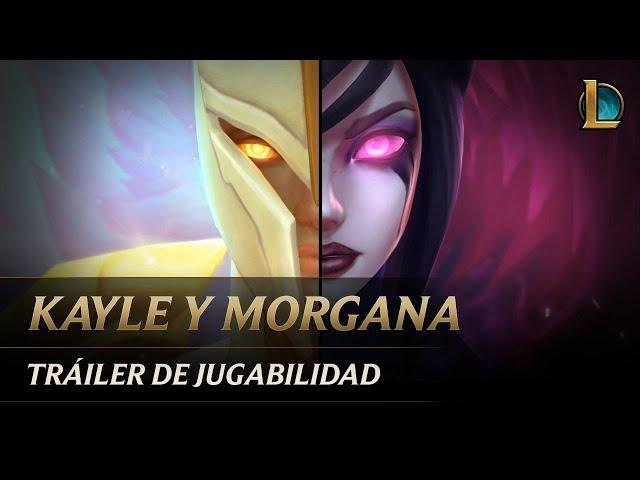 Kayle y Morgana: La Justiciera y la Desolada | Tráiler de jugabilidad de campeón - League of Legends