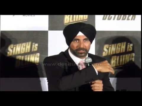 SHOCKING! When Akshay Kumar Driving With A Lion During Shoot For SINGH IS BLING- Find Out Here!