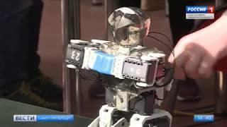 Смотреть видео «Startup Junior. Robotics». Сюжет ГТРК «Санкт-Петербург» онлайн