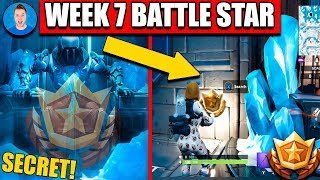 Fortnite SECRET BATTLE STAR WEEK 7 SEASON 7 LOCATION! (Fortnite Season 7 Challenges)