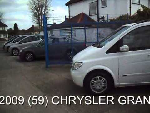 FOR SALE 2009 (59) CHRYSLER GRAND VOYAGER  TOURING CRD 2.8 DIESEL AUTOMATIC 7SEATER STOW AND GO