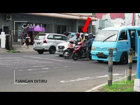 CCTV LAMPU MERAH DI MANADO (PRANK & SOCIAL EXPERIMENT)