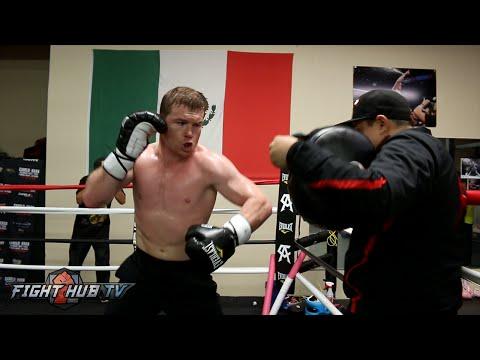 Canelo vs. Khan video- Canelo Alvarez's COMPLETE Workout for Amir Khan