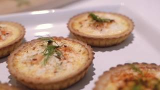 Marks & Spencer quick Quiche with Smoked Salmon, Dill & Feta cheese