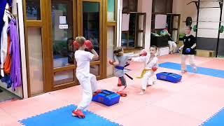 Уроки каратэ. Karate Lessons. Karate treining.