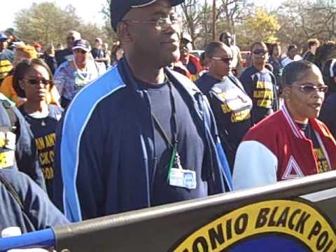 San Antonio Black Police Martin Luther King Jr March In San